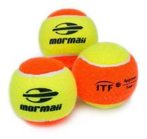 Kit Com 3 Bolas De Beach Tennis Mormaii Stage 2 Approv Itf -