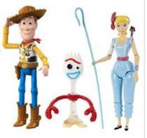 Kit com 3 Bonecos Toy Story 4 -