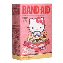 Kit com 3 Curativos BAND AID Hello Kitty com 25 unidades - Band aid