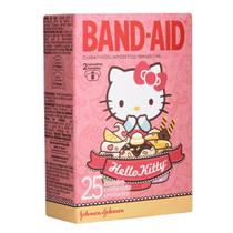 Kit com 3 Curativos BAND AID Hello Kitty com 25 unidades -