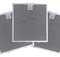 Kit com 3 Filtros Metálicos para Coifa Electrolux Home Pro 90FS -