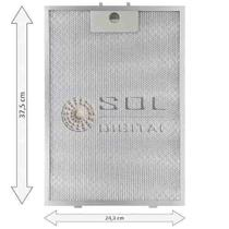 Kit com 3 Filtros Metálicos para Depurador Electrolux Digital DE80T -