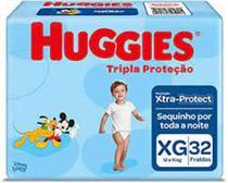 KIT com 3 Fralda Descartável Infantil  XG com 96 Unid  - Huggies -