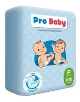 Kit Com 3 Pacotes Fraldas P Pro Baby -