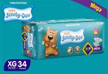 Kit Com 3 Pacotes Fraldas Scooby-doo Mega Atacado Barato Revenda Tam XG - Scooby-Doo Baby
