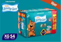 Kit Com 3 Pacotes Fraldas Scooby-doo Revenda Tam XG Com 162 Unidades - Scooby-Doo Baby