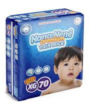 Kit Com 3 Pacotes XG Fraldas Nana Nenê Premium -