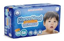 Kit Com 3 Pacotes XXG Fraldas Nana Nenê Premium -