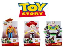 Kit Com 3 Pelucias Toy Story - Woody, Jessie e Buzz - Multikids
