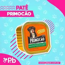 kit com 3 Petisco Cão Úmido Primocao Adulto Patê carne 300g - Primocão