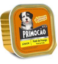 Kit com 3 Petisco Cão Úmido Primocao Junior Patê frango 300g - Primocão