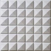Kit com 3 Placas 3D Auto Adesivas Revestimento de Parede Inca 50x50cm 0,75m² - Gf Casa Decor