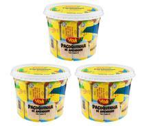 Kit com 3 Potes Paçoca Tablete de Amendoim Yoki 1,1 Kg sendo 22g cada -
