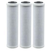 Kit Com 3 Refil Carvão Ativo Para Filtro Cavalete 9 3/4 Wfs - Kemflo