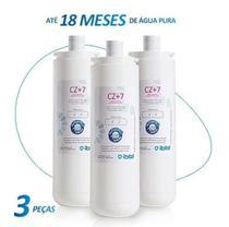 Kit com 3 refil filtro girou trocou ibbl cz+7 (original) -
