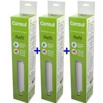 Kit Com 3 Refis / Filtro CIX01AX  Para Purificador de Água CONSUL - CPC30CPB35 e CPB36 (Original) -