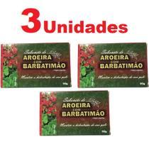 Kit com 3 Sabonete de Aroeira e Barbatimão em Barra 90g - Bionature
