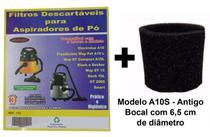 Kit Com 3 Sacos Descartáveis Aspirador De Pó Electrolux A10 Smart Mod. A10s + Filtro Motor - Oriplast