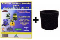 Kit Com 3 Sacos Descartáveis Aspirador Pó Electrolux A10 Smart Mod. A10n1 + Filtro Motor - Oriplast