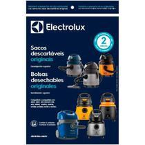 Kit com 3 Sacos Descartáveis Electrolux para Aspirador de Água e Pó A10Smart -