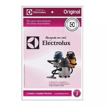 Kit Com 3 Sacos Descartáveis Gt 2000 Pro - Electrolux -