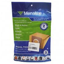 Kit Com 3 Sacos Para Aspiradores Dt30mcbr001 Sim01 Menalux - Electrolux
