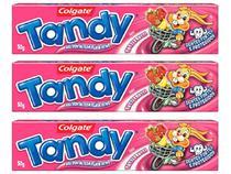 Kit com 3 Unidades de Creme Dental Infantil - Colgate Tandy Tutti-Frutti 50g Cada