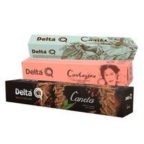 Kit com 30 Cápsulas Delta Q Café Expresso Especialidades -