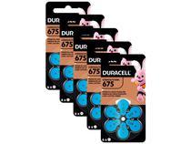 Kit com 30 Unidades de Pilha Auditiva 675 - Duracell