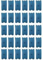Kit com 30 unidades - Gelo Artificial Reutilizável ClioGel Rígido 500 Ml -