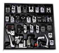 Kit Com 32 Calcadores Para Patchwork Máquina Doméstica - Universal