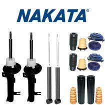 Kit Com 4 Amortecedores + Kits Completo Traseiro E Dianteiro Ecosport 4x2 2003 A 2012 - NAKATA