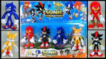 kit com 4 bonecos Sonic Generation -