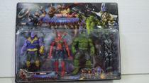 Kit com 4 bonecos vingadores - Avengers