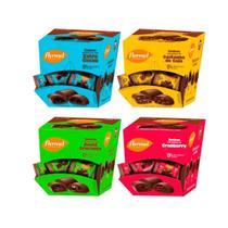 Kit Com 4 Caixas De Bombons Flormel Zero Açúcar -