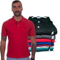 Kit com 4 Camisas Gola Polo Masculina Original Polo CLUB BR -