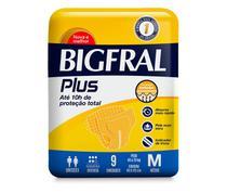 KIT com 4 Fralda Bigfral Plus Geriátrica -