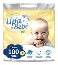 Kit com 4 Fralda Descartável Infantil Upa Bebê P Plus Barato Atacado -