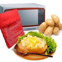 Kit com 4 Saco Para Assar Batatas Express No Microondas - Potato Express