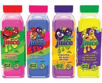 Kit Com 4 Slime Juice Suco Frutas Cheirinho 265g Dtc 5207 -