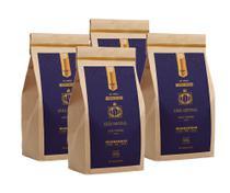 Kit com 4 unidades - Café gourmet em grão para expresso 500g - Grão Imperial Cafés Especiais