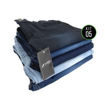 Kit com 5 Calças Jeans Vira Lata Wear Original -