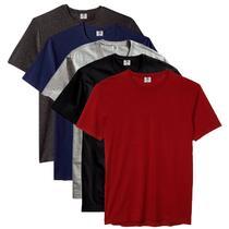 Kit com 5 Camiseta Masculina Básica Algodão Premium Flamenco - Part.B