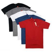 Kit Com 5 Camisetas Masculinas Básicas de Algodão - Bamborra Denim