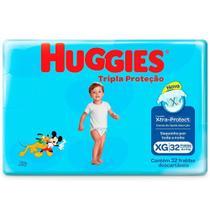 Kit com 5 Fralda Descartável Infantil baby disney com 160 Unid. - Huggies -