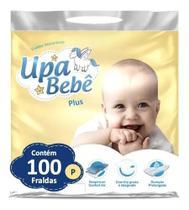 Kit com 5 Fralda Descartável Infantil Upa Bebê Plus Atacado Barato Revenda P -
