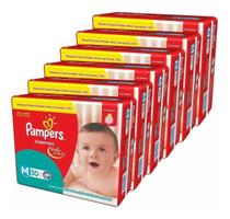 Kit Com 5 Fraldas Pampers Supersec M Atacado 150 Unidades -