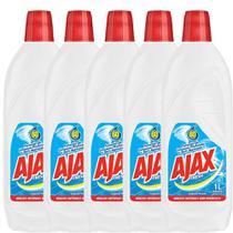 Kit com 5 Limpador Diluível Ajax Fresh 1L Cada -
