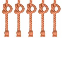 Kit com 5 Lustres Pendentes Corda para 1 Lâmpada E27 Bivolt - MbLed