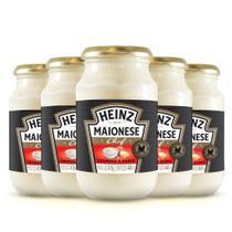 Kit com 5 Maionese Heinz Chef Original 2.075g - Espanha -
